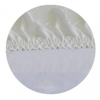 Spannbettlaken - Weiß