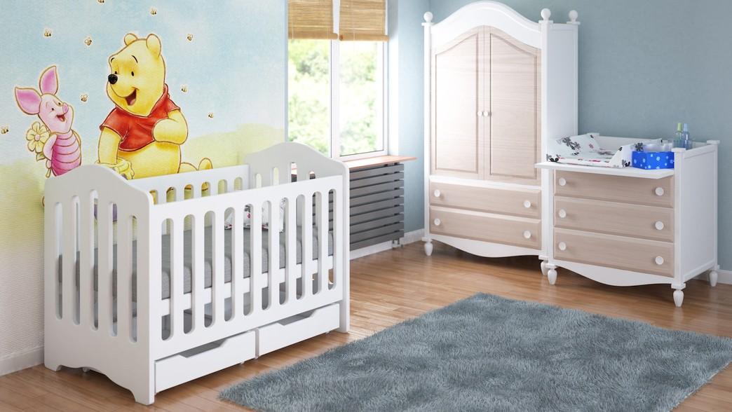Spjälsängar för spädbarn